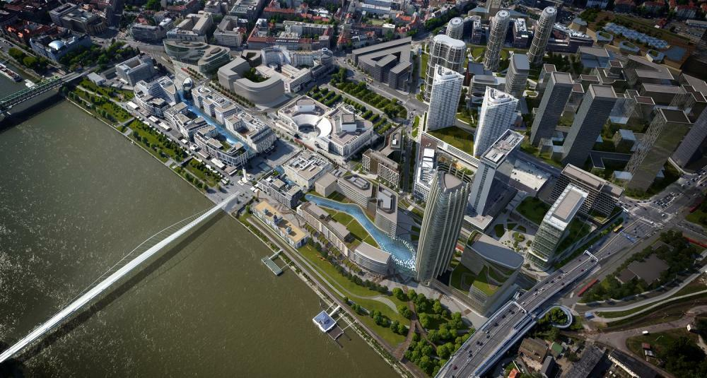 Začiatkom augusta sme predstavili novinárom koncepciu Spojenej Bratislavy.  Projekty JTRE sa v poslednom období sústreďujú v okolí nábrežia a myslíme  si a99e28f6367